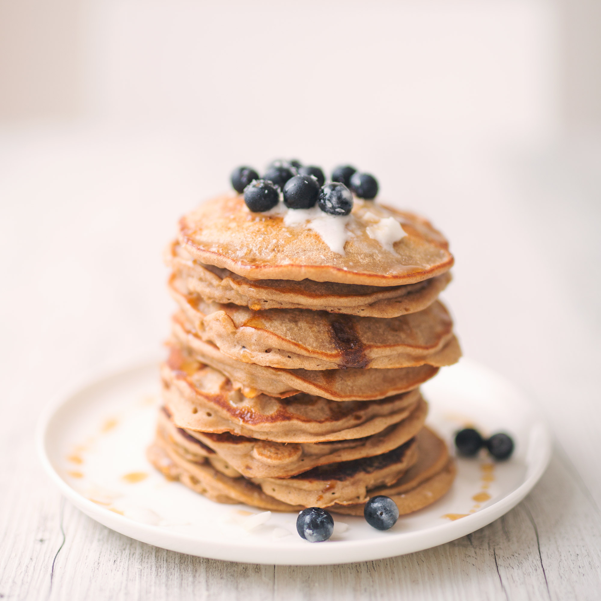 Vegan Banana Buckwheat Pancake And Waffle Recipe Hazel Cacao