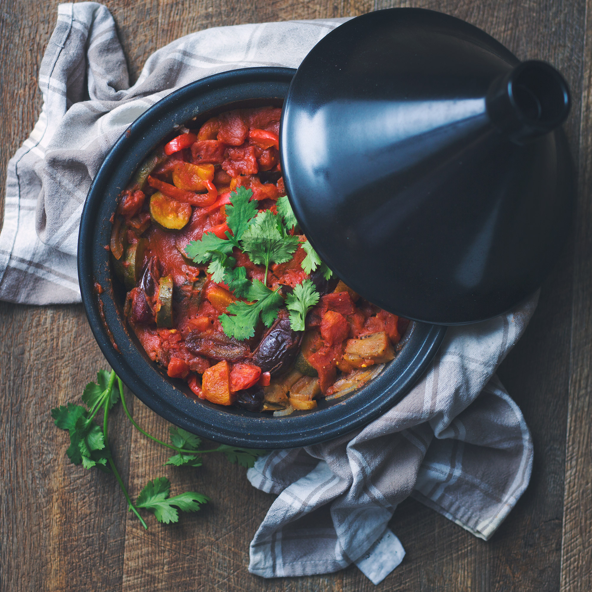 Mixed Vegetable Tagine with Apricots and Dates