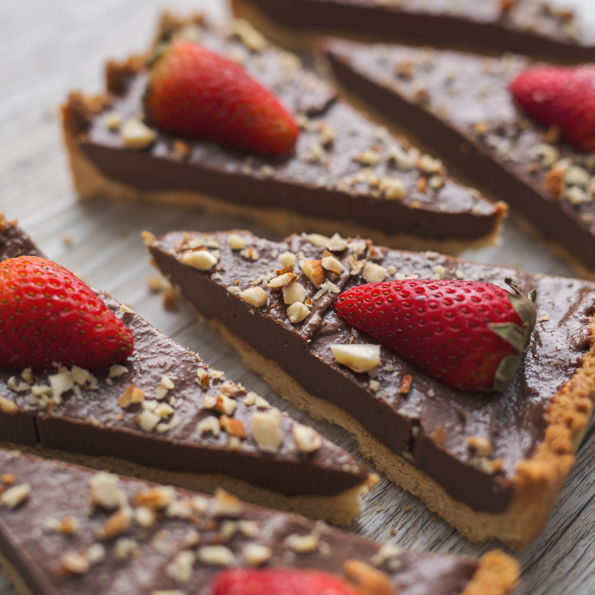 Vegan Chocolate Ganache Tart