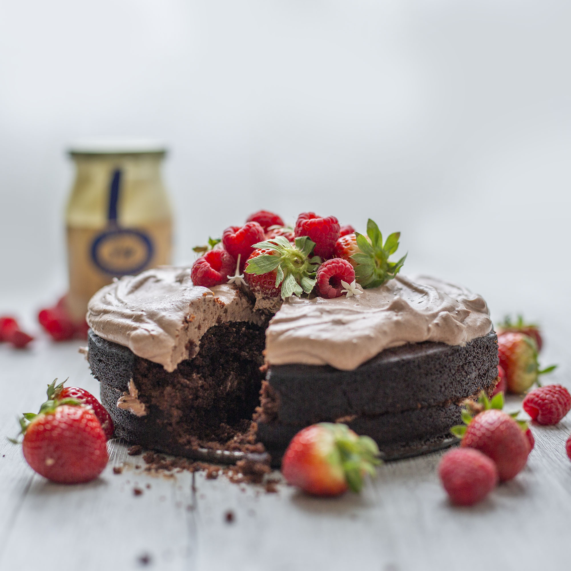Vegan Chocolate Mayonnaise Cake