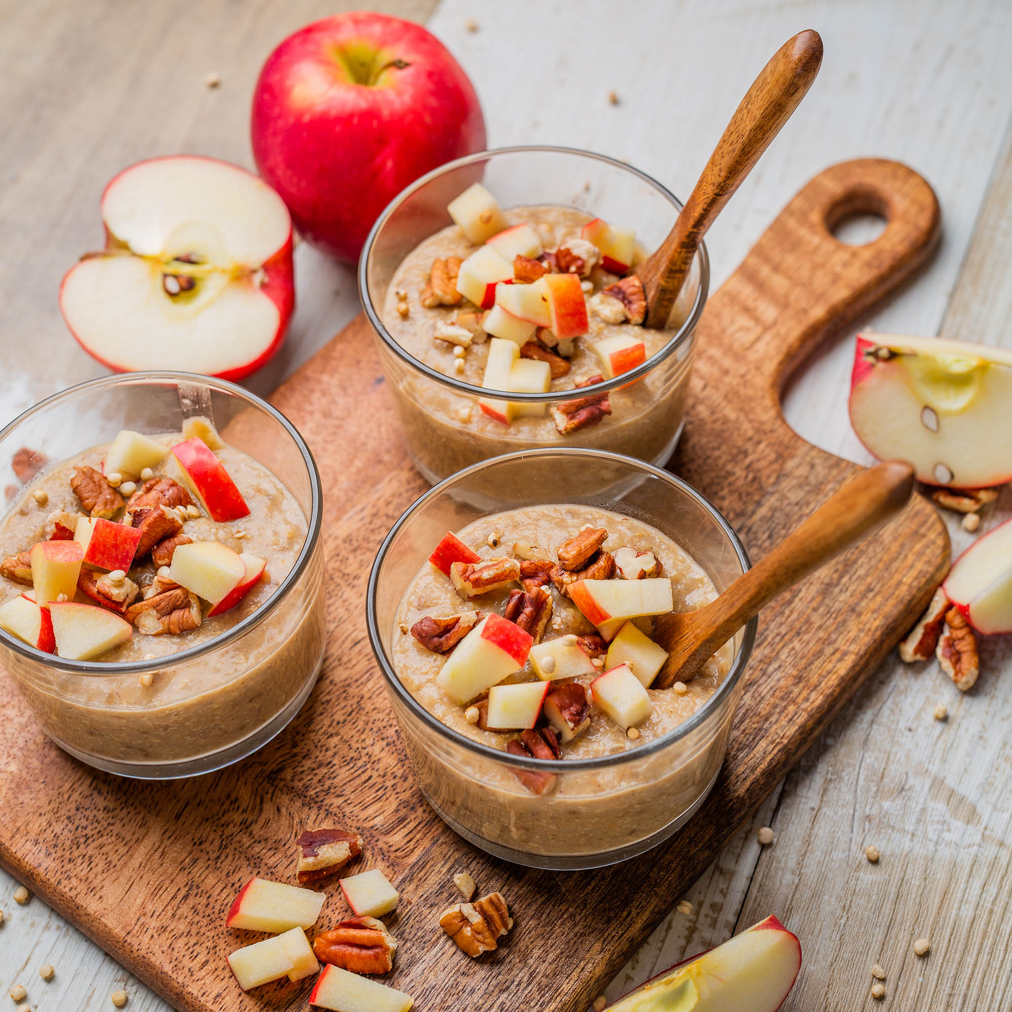 Apple Almond Quinoa Porridge