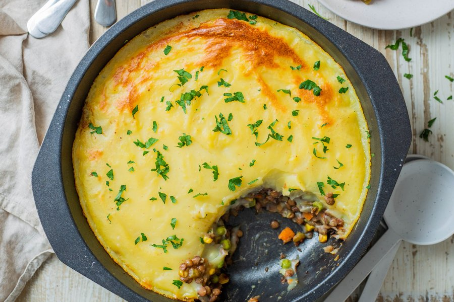Vegan Lentil Shepherds Pie