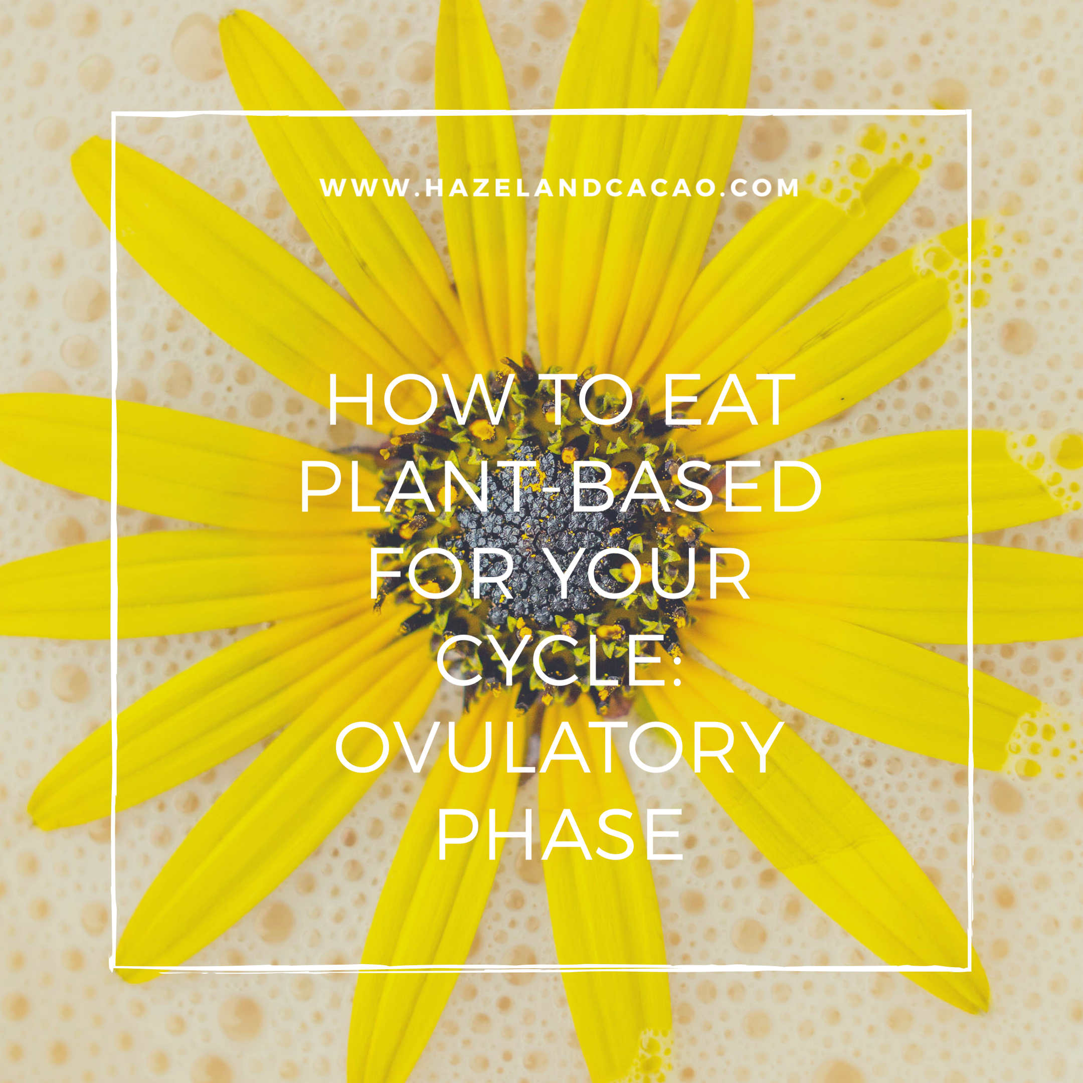 How To Eat Plant-Based for the Menstrual Cycle: Ovulatory Phase
