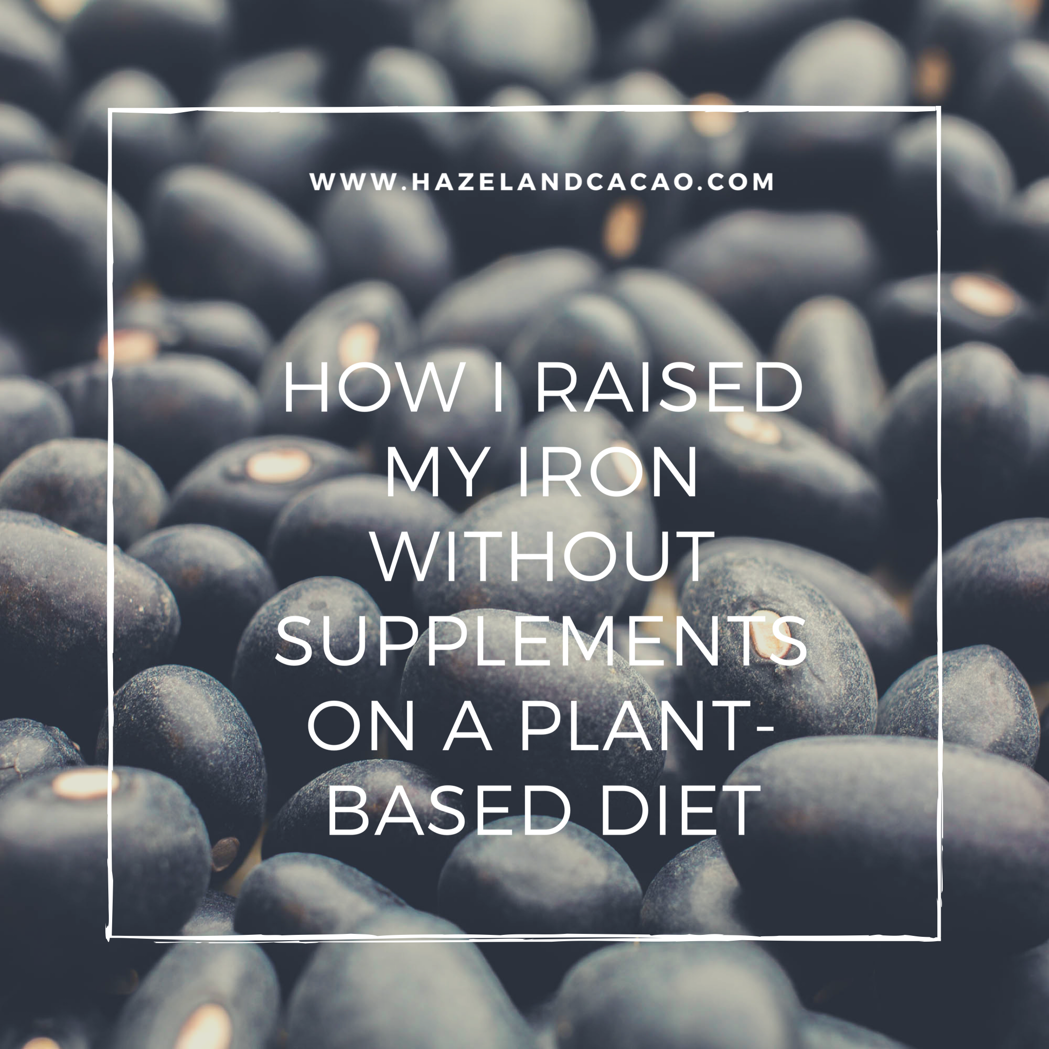 How I Raised My Low Iron Without Supplements on a Plant-based Diet